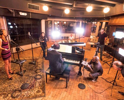 Action-Photographer-Liam-Blume-captures-Cliff-Brodsky-performing-at-The-Village-Studio-renowned-for-making-music-recording-studio