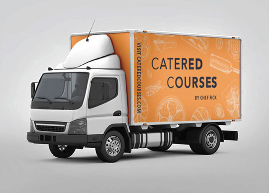Catered Courses Truck