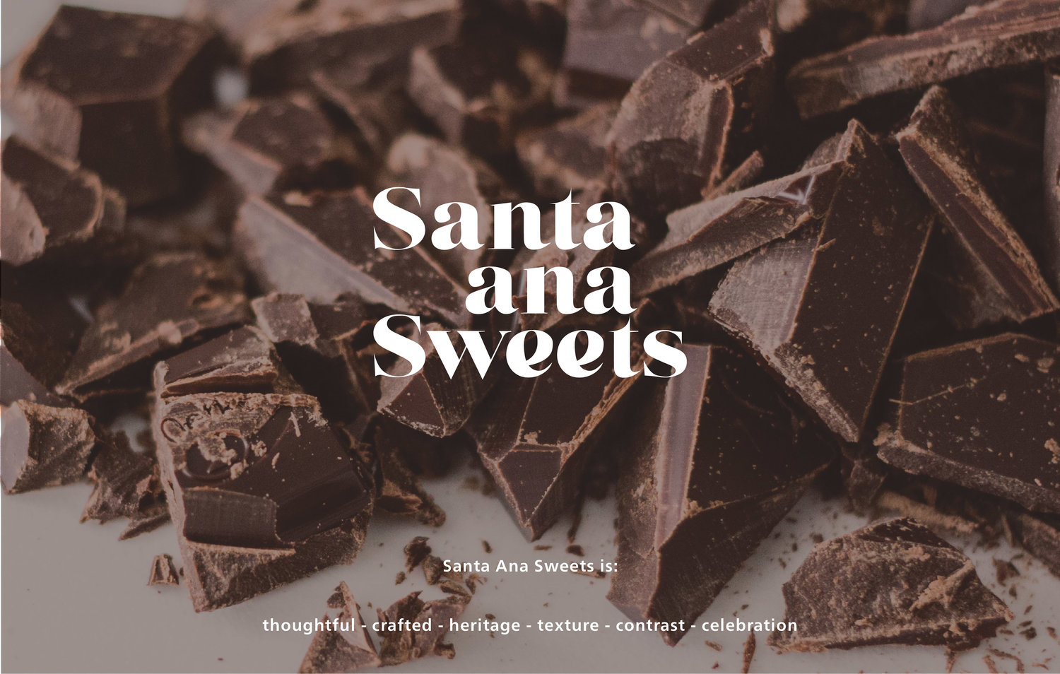 Santa Ana Sweets New Logo